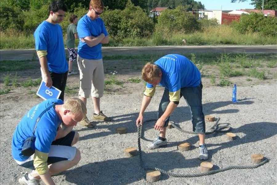 Aktiv Skärgård Bygg ett team