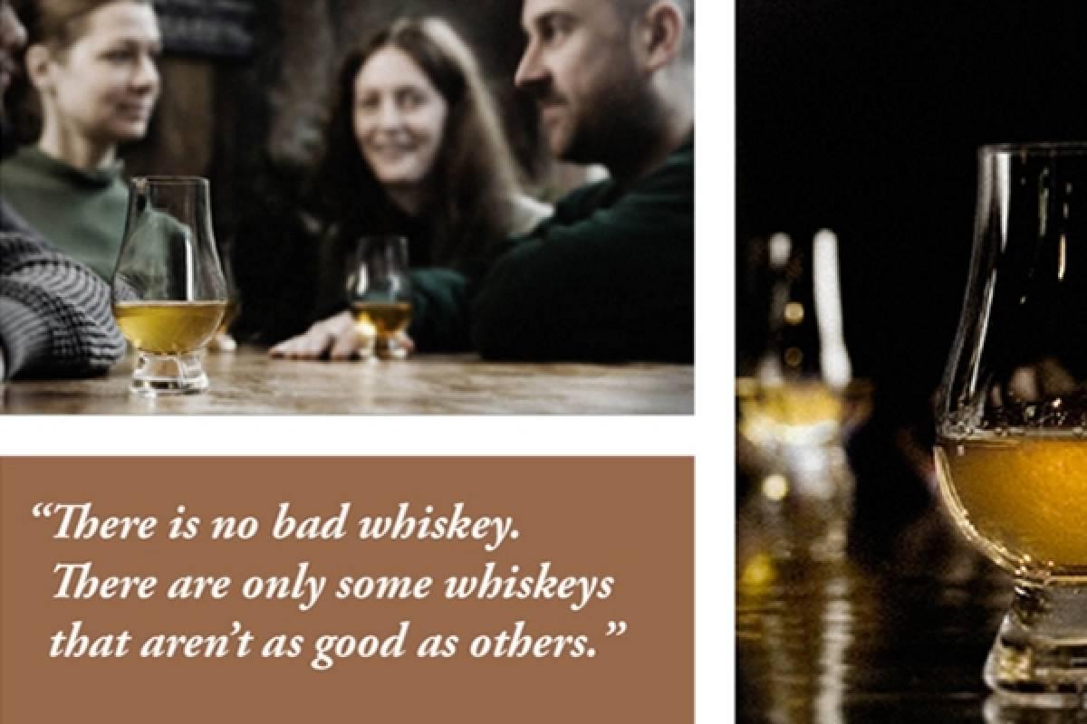 Good Food Ireland Master Distiller Whiskey Tasting Killarney