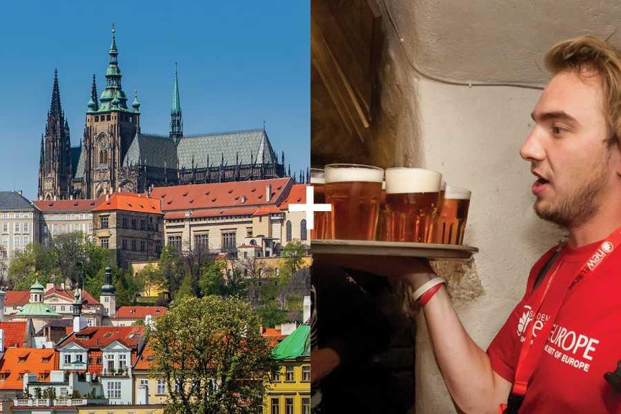SANDEMANs NEW Prague Tours Experiencia Bohemia: Castillo de Praga y Tour de la Cerveza