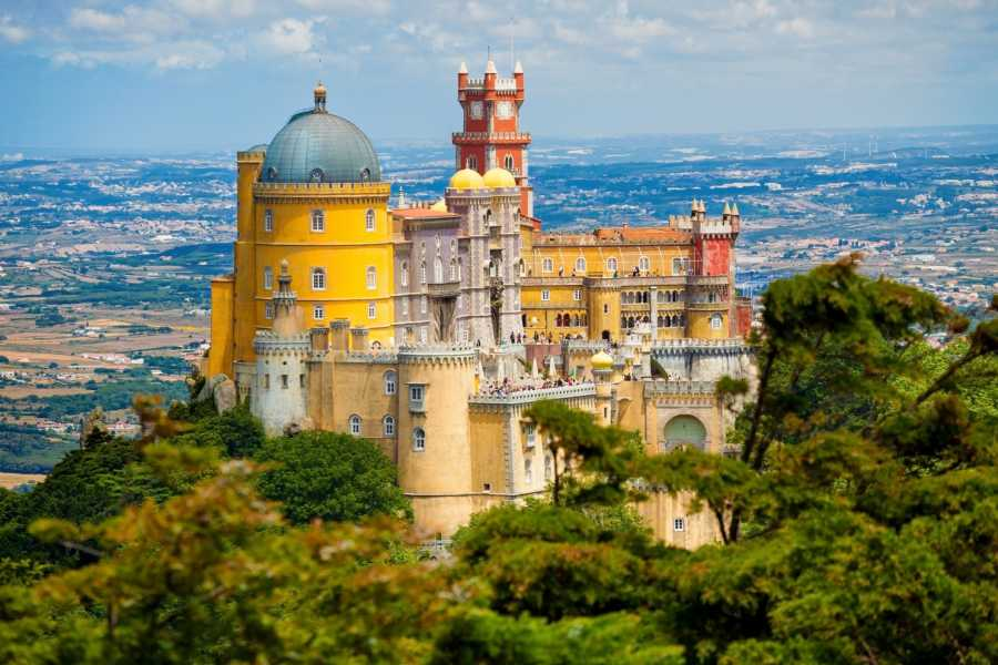 Lisbon on Wheels 1- Private tour to Sintra From Lisbon and Pena Palace