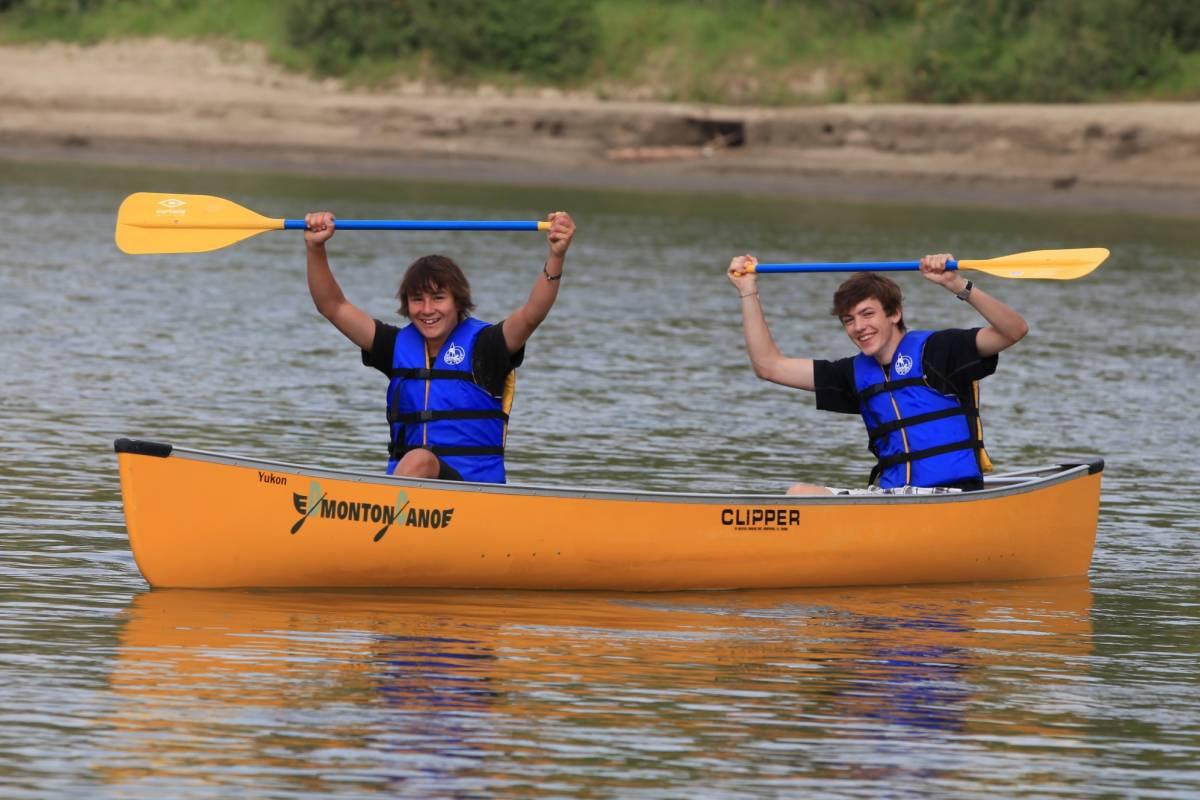 Edmonton Canoe Sunday all day canoe