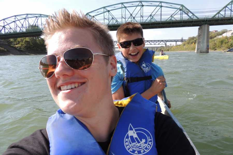 Edmonton Canoe Sunday pm canoe