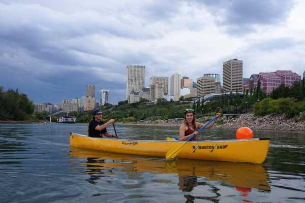 Edmonton Canoe Weekday evening canoe