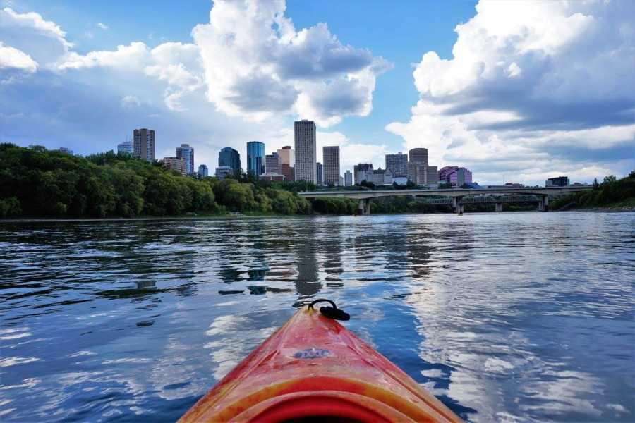 Edmonton Canoe Weekday evening solo kayak