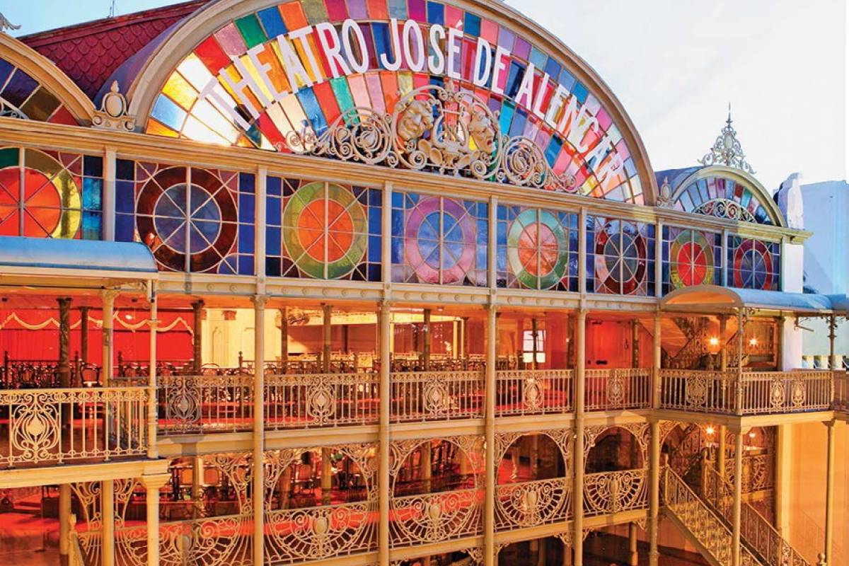 Check Point Theatro Jose de Alencar