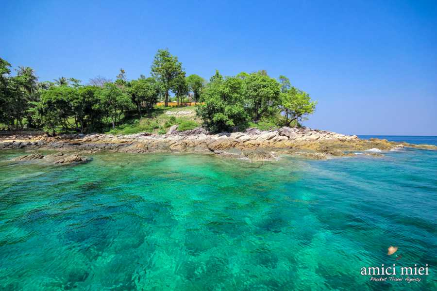 AMICI MIEI PHUKET TRAVEL AGENCY One Day Snorkeling Premium Trip Raya and Coral Island with Speed Boat AM030