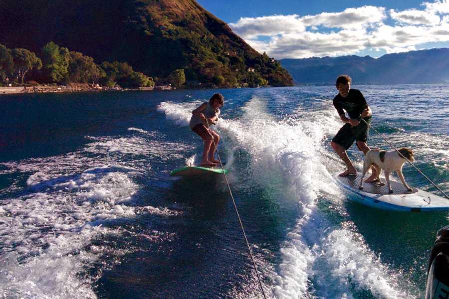PanaSurf SUP Wakesurfing