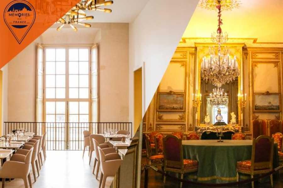 Memories DMC France VIP Versailles Palace Highlights and Private Apartments of the Kings including Chef Ducasse Gourmet Lunch in the Château