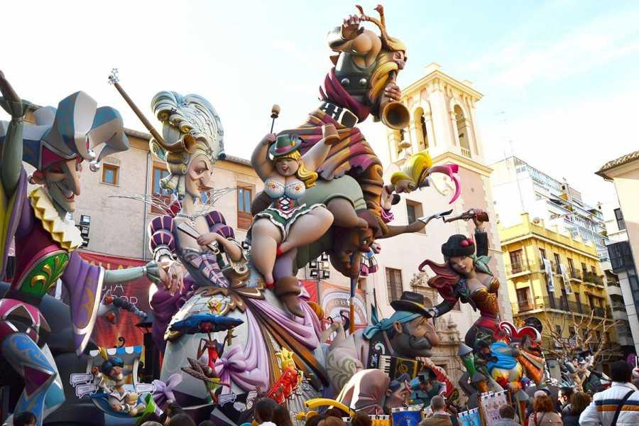 Bus2Alps AG Barcelona 2 Las Fallas Valencia