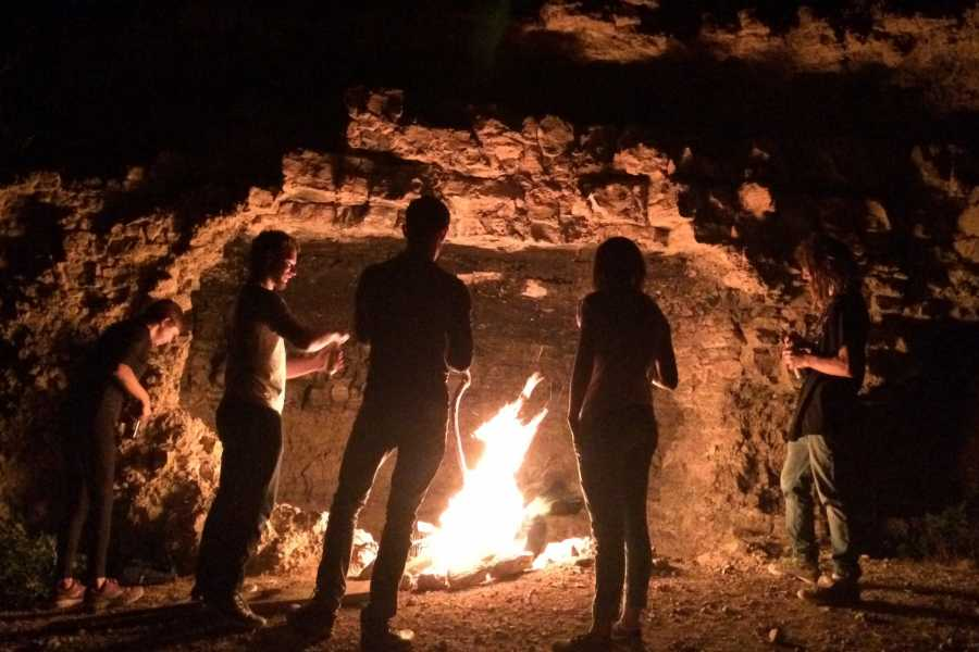Wild-Trails Adventure in Israel - Desert Cave Fire