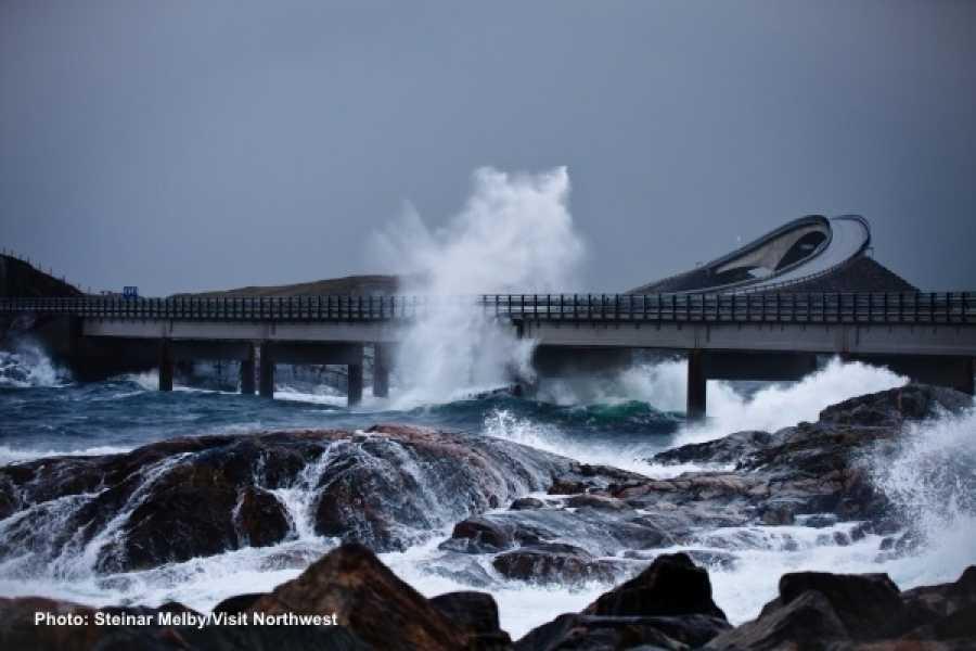 FRAM Rundtur til Nasjonal turistveg Atlanterhavsvegen & Molde