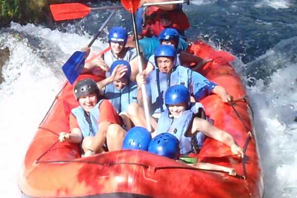 Rafting on the river Cetina in Croatia near town Omis!  www.raft.hr