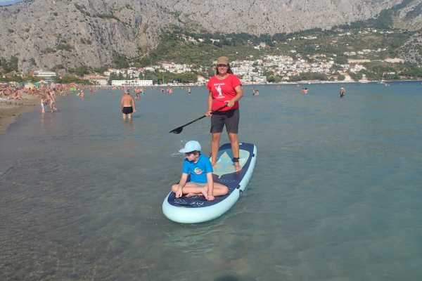 SUP tour on the river Cetina       www.raft.hr/sup