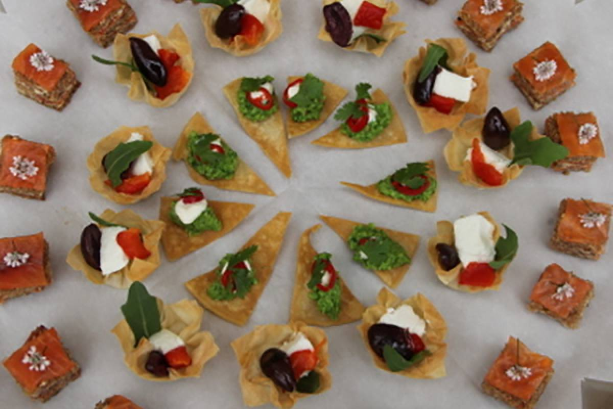 Good Food Ireland Canapes, Finger Food and Tasty Bites at Ballymaloe Cookery School