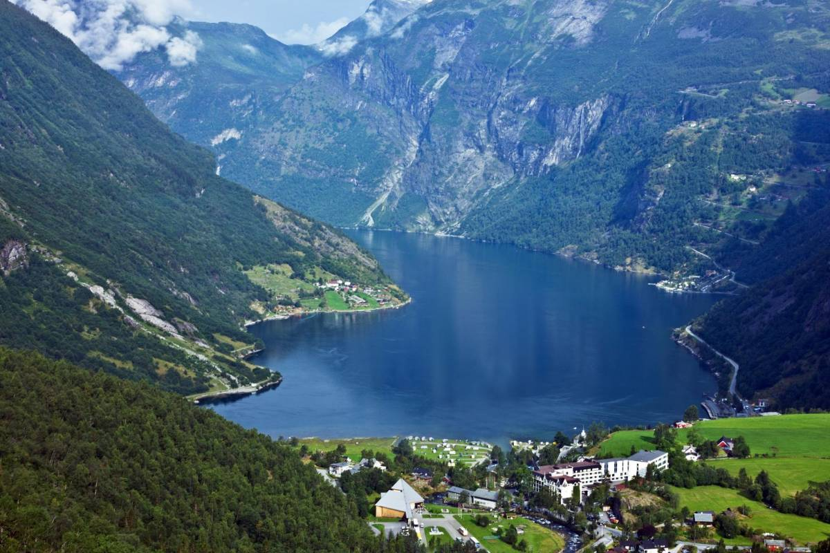 Norway Excursions Olden the majestic Geirangerfjord