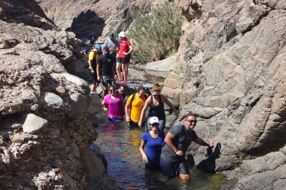 Adventurati Outdoors Day Canyoning in Showka
