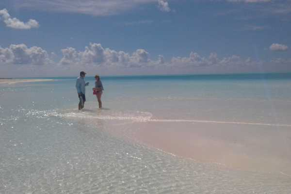 Omar Daley's Adventures Exuma Sandy Cay: Full Day Boat Charter: Omar's Adventure Tours