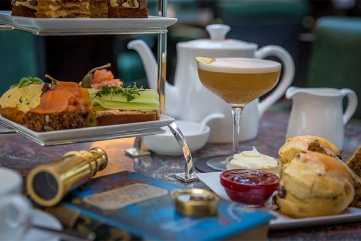 Good Food Ireland Afternoon Tea at Lemuel's at Conrad Dublin