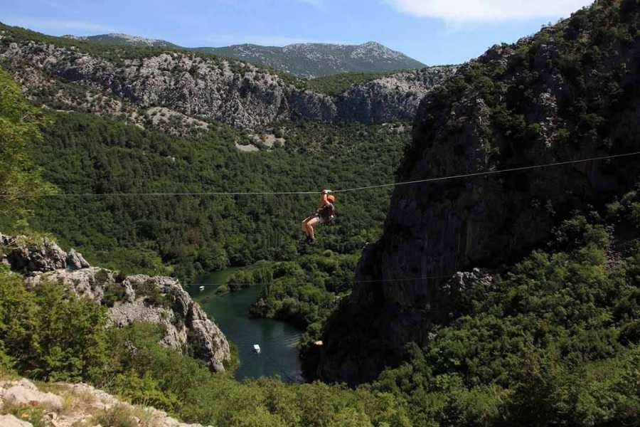 Sugaman Tours Zip Line tour from Split