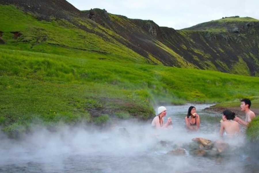GOECCO Icelandic Ice Cave Guides Hot Spring Volcano Hike ECO TOUR