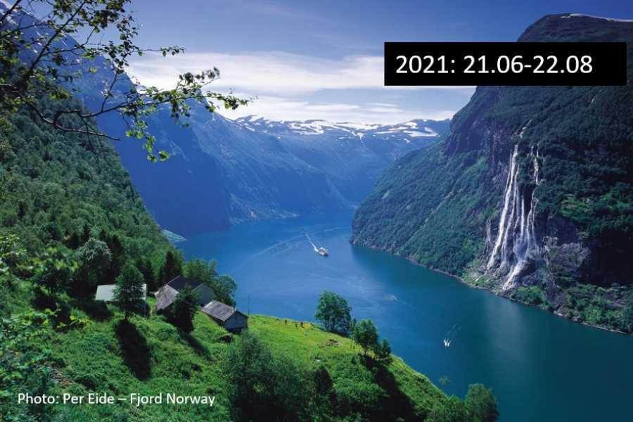 Travel like the locals (Møre og Romsdal) Molde - UNESCO Geirangerfjord (en veg)