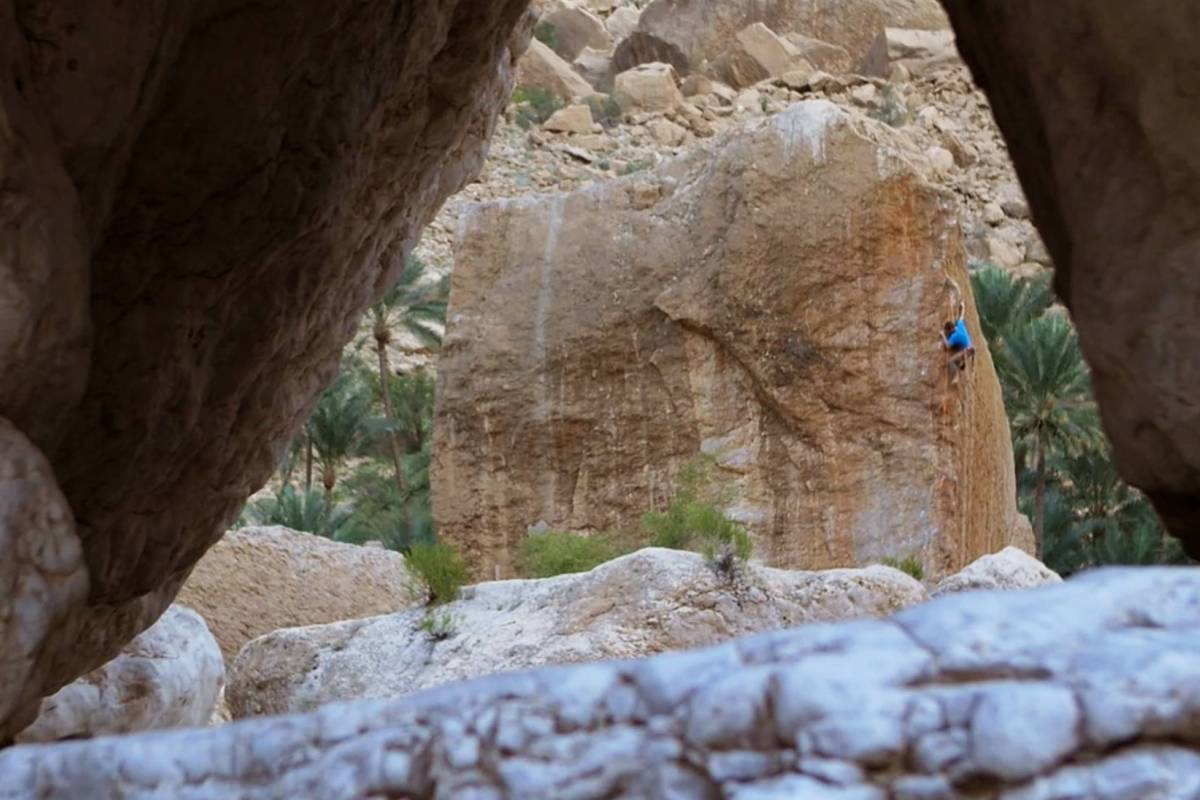 Adventurati Outdoors Fingerlock Oman Vol.1 - Rock Climbing Workshop