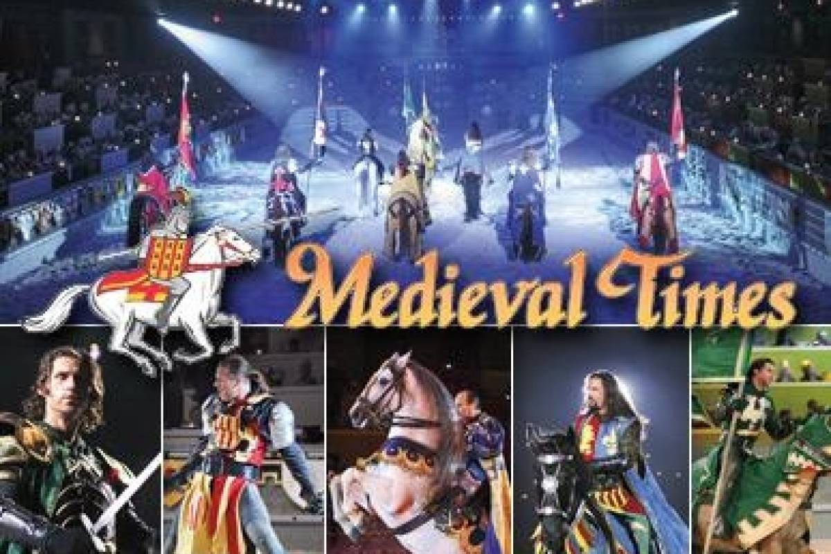 Dream Vacation Builders Round Trip Transfer to Medieval Times Dinner Tournament