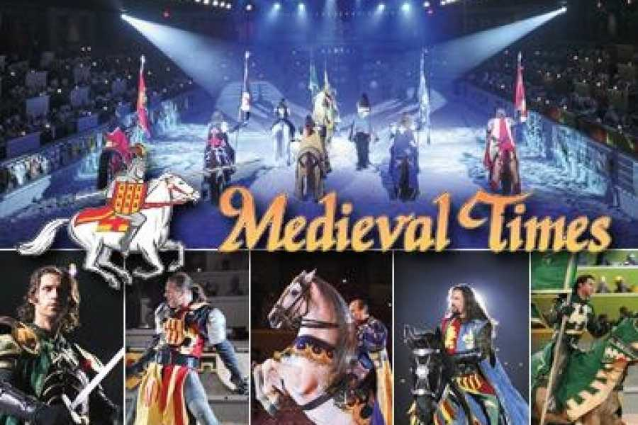 Dream Vacation Builders Round Trip Transfer to Medieval Times Dinner Tournament Tour #6C