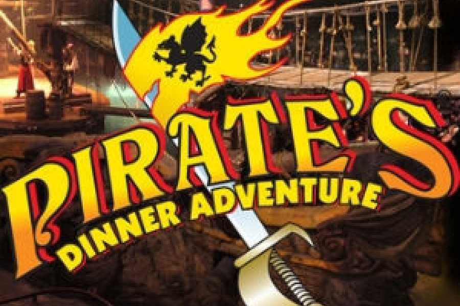 Dream Vacation Builders Round Trip Transfers to Pirate's Dinner Adventure Tour #6E