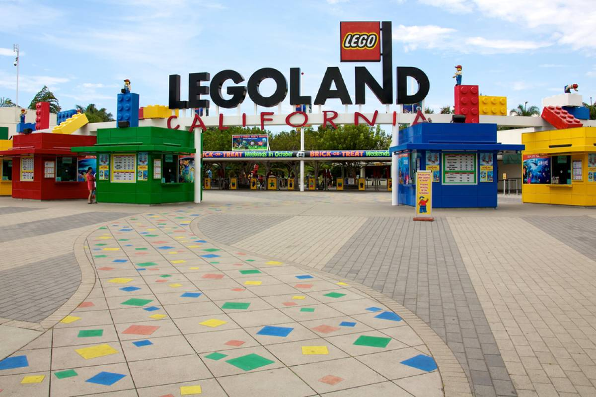 Dream Vacation Builders Legoland California Admission Only