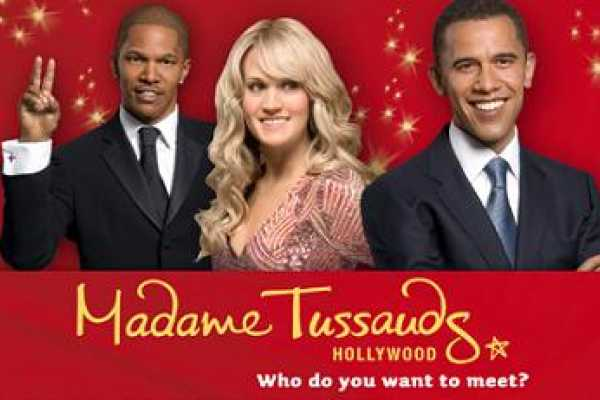 Dream Vacation Builders Madame Tussauds Hollywood Admission