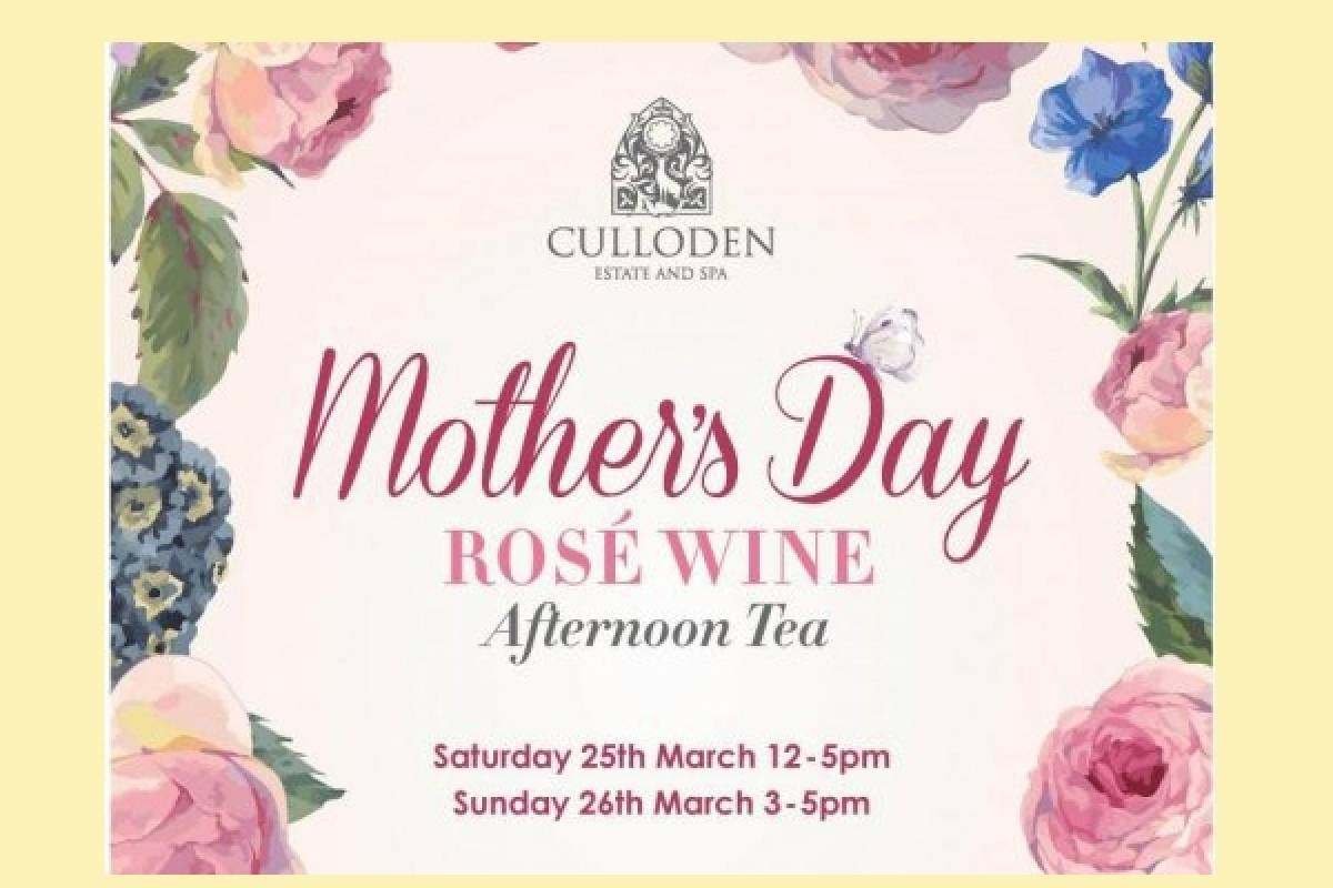 Good Food Ireland Mother's Day Afternoon Tea at Culloden Estate and Spa