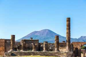 Pompeii & Vesuvius from Naples