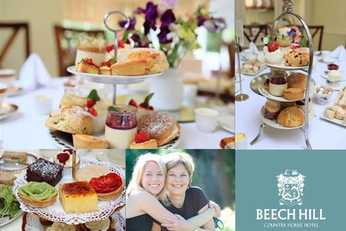 Good Food Ireland Afternoon Tea for Mothers Day at Beech Hill Country House Hotel
