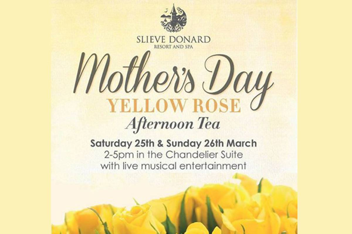 Good Food Ireland Mother's Day Afternoon Tea at Slieve Donard Resort & Spa