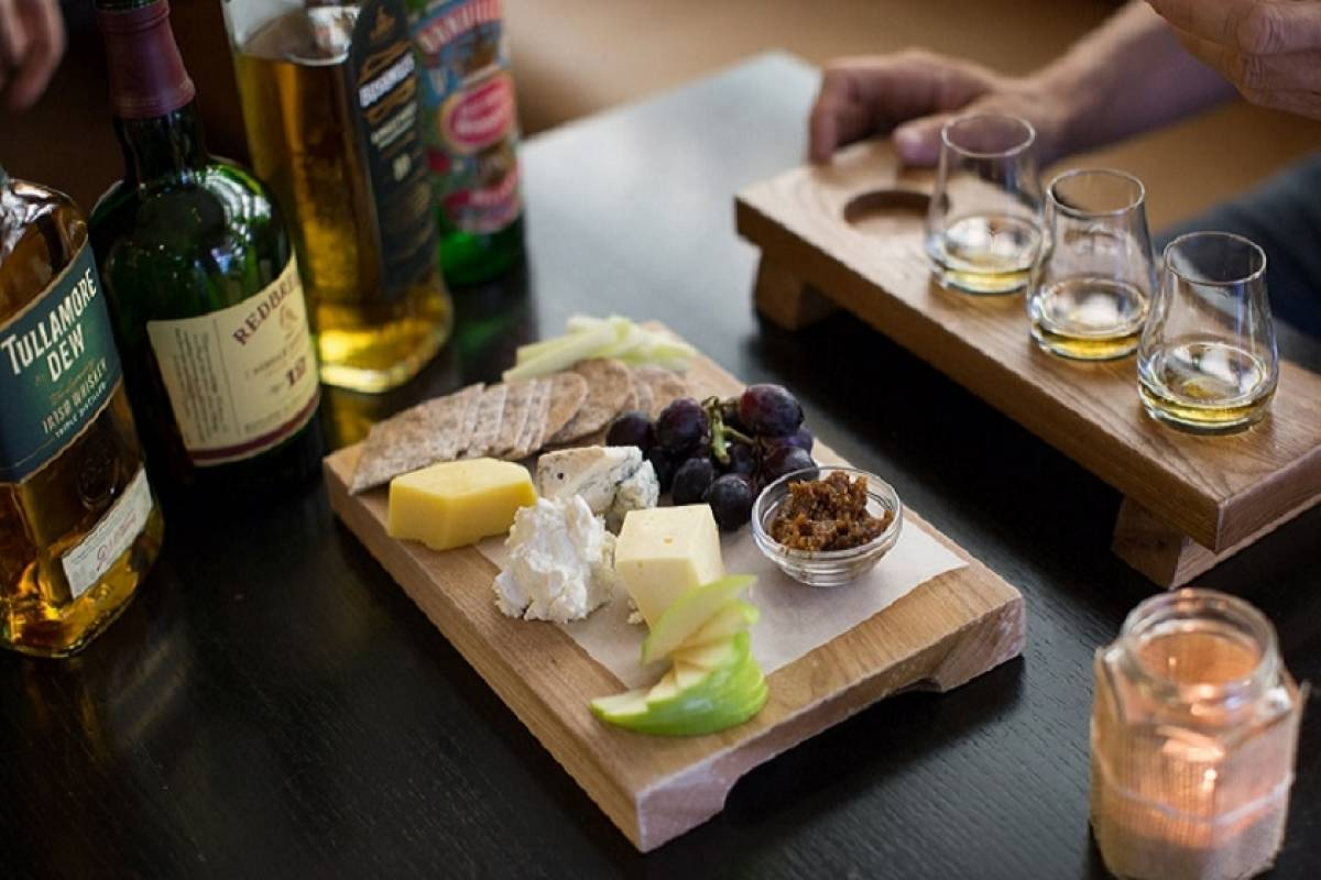 Good Food Ireland St. Patrick's Day Irish Whiskey & Farmhouse Cheese Pairing by Celtic Whiskey Shop