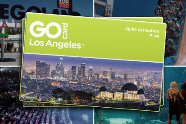 Dream Vacation Builders Los Angeles GO Card