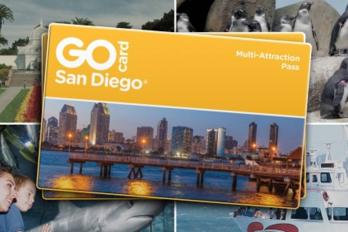 Southern California Ticket & Tour Center San Diego GO Card