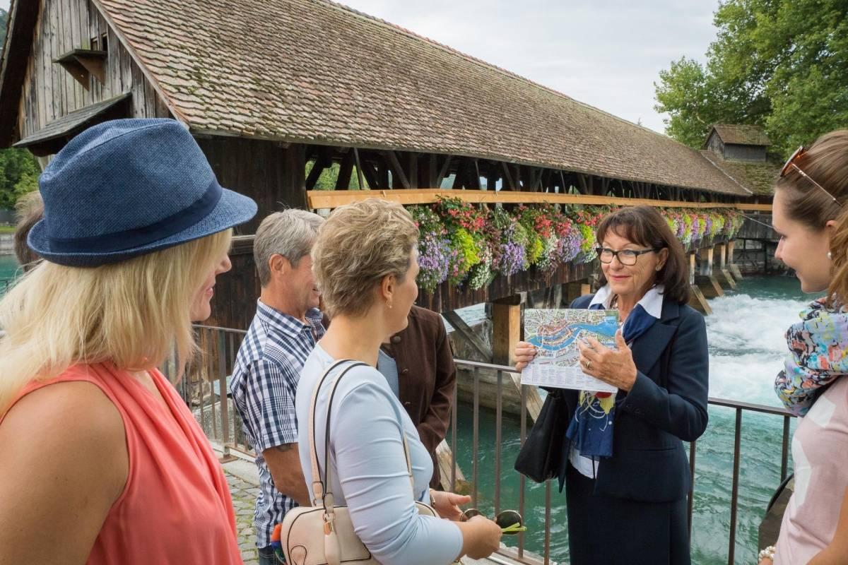 Interlaken Tourismus Visite de la ville