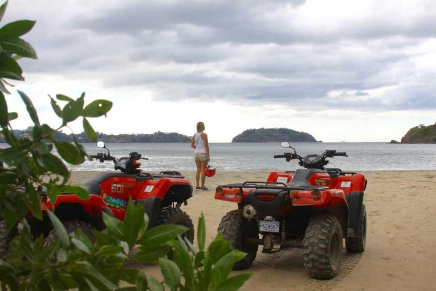 Congo Trail Canopy Tour ATV Beach Tour, Guanacaste, Costa Rica.