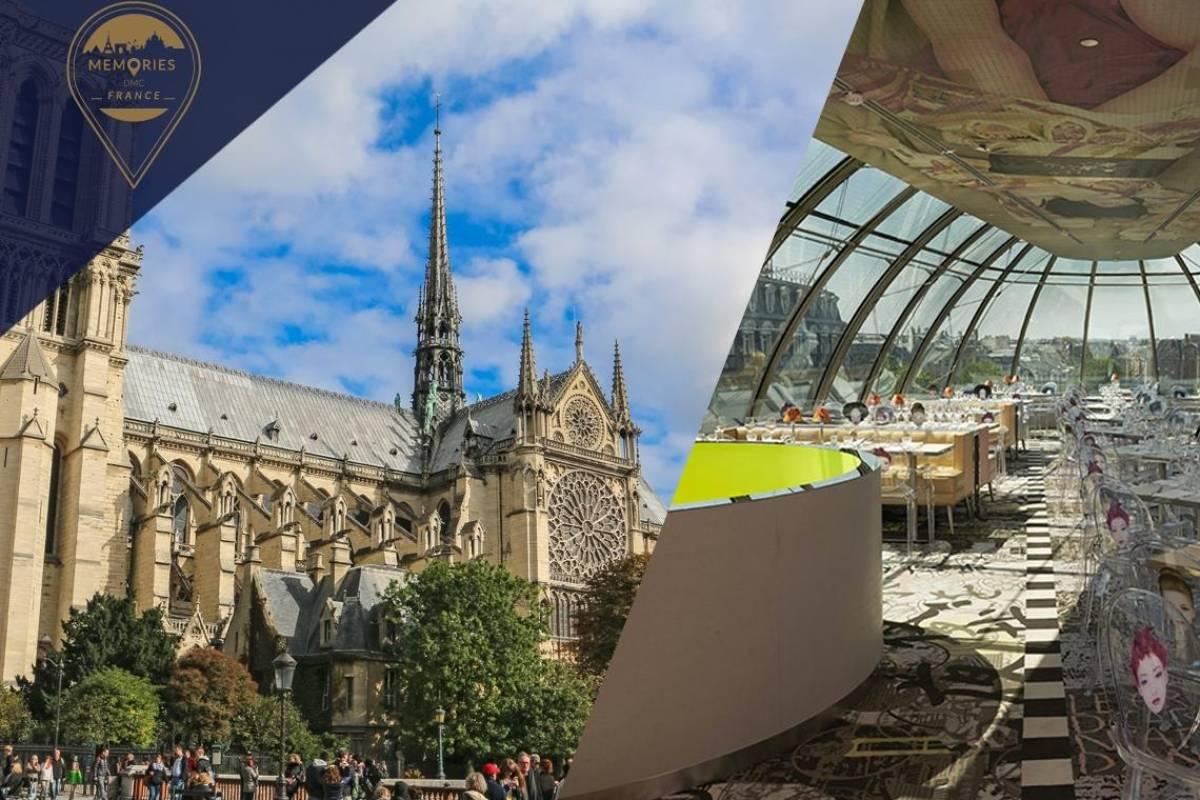 Memories DMC France Private Ile de la Cité tour with Notre Dame Towers climb, Sainte Chapelle, Conciergerie & Panoramic stop for French Pastries