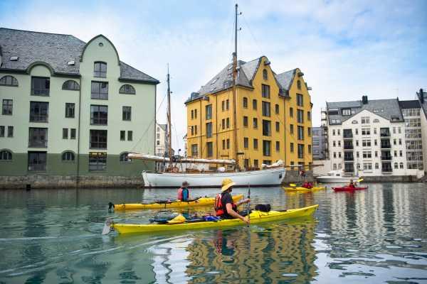 Art Nouveau Kayak -  Ålesund