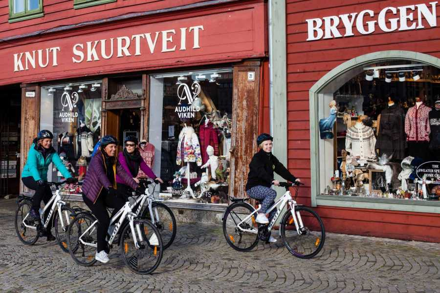 Norway Insight Biking through Bergen's history