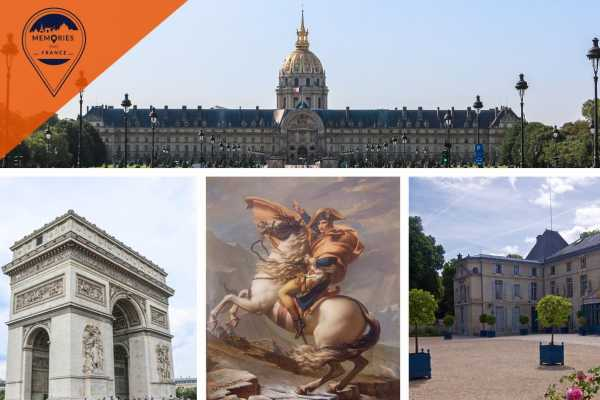Memories DMC France Napoleon, the man and the legend: Full day tour including Arc de Triomphe
