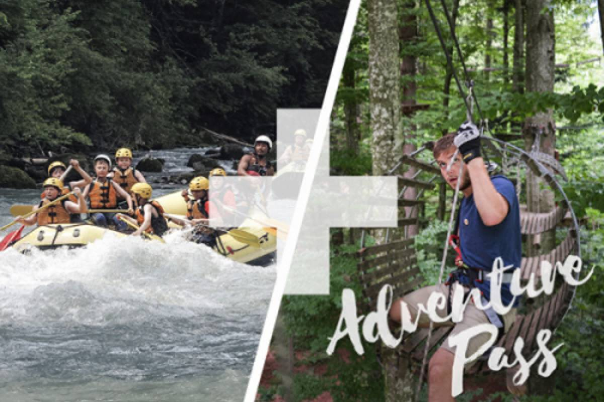 Outdoor Interlaken AG Adventure Pass: Rafting Simme + Ropes Park