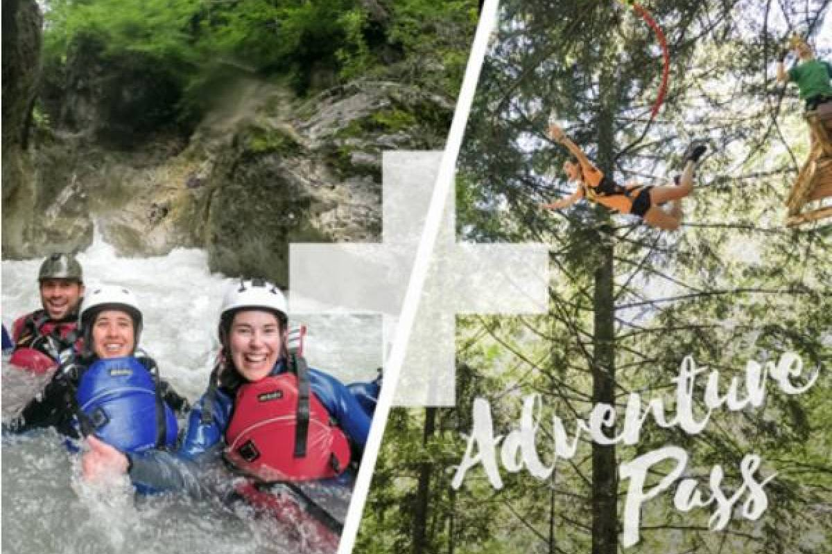 Outdoor Interlaken AG Adventure Pass: Canyoning Interlaken + Seilpark