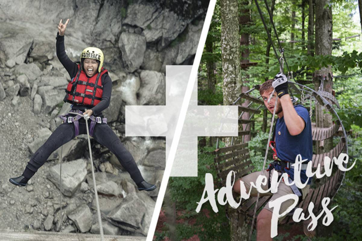 Outdoor Interlaken AG Adventure Pass: Canyoning Grimsel + Parcours D'accrobranche