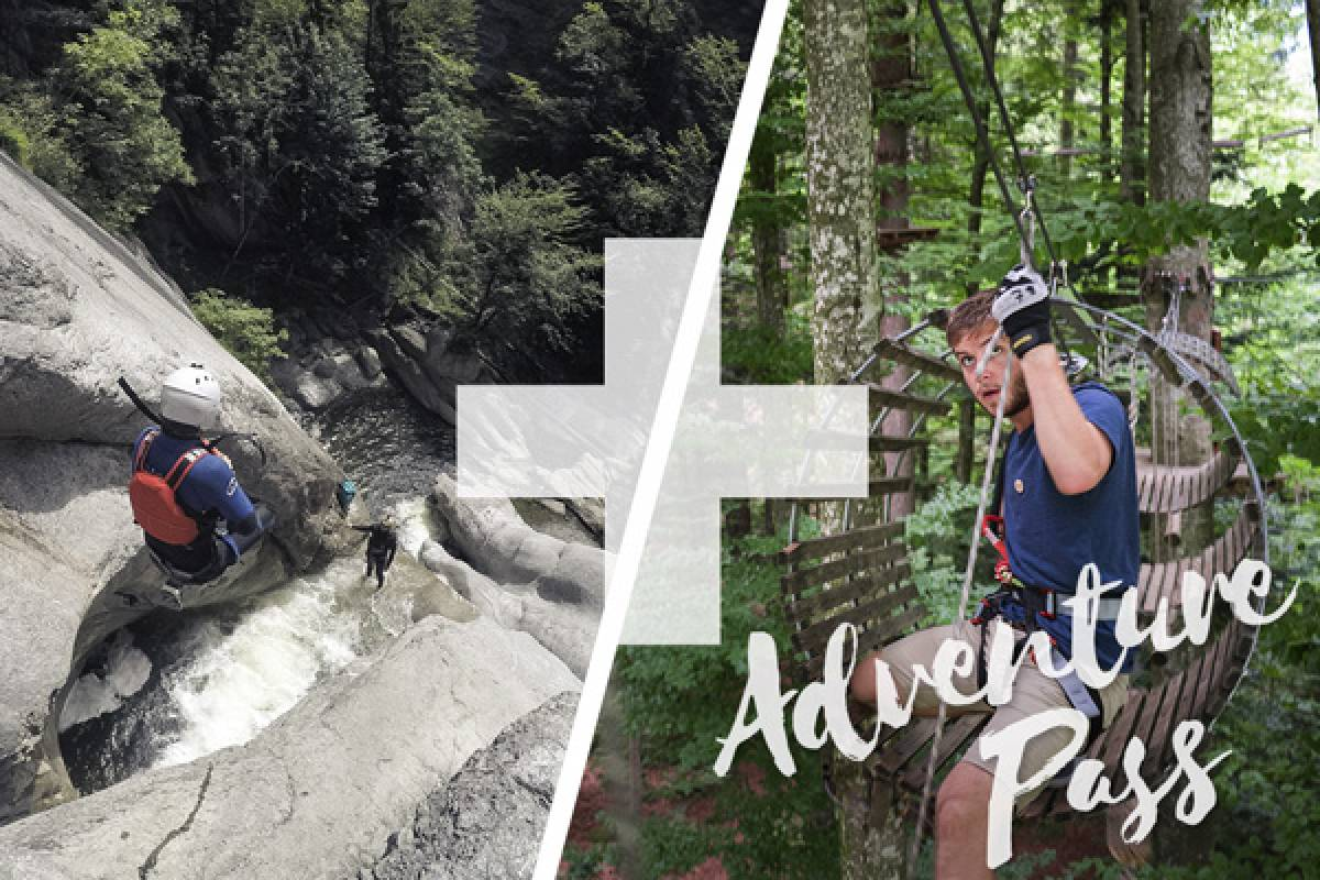 Outdoor Interlaken AG Adventure Pass: Canyoning Chli Schliere + Ropes Park