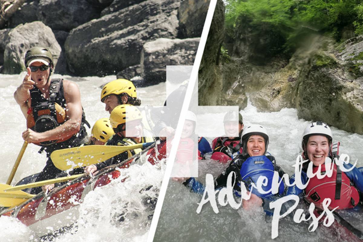Outdoor Interlaken AG 冒险活动通行卡 (Adventure Pass)