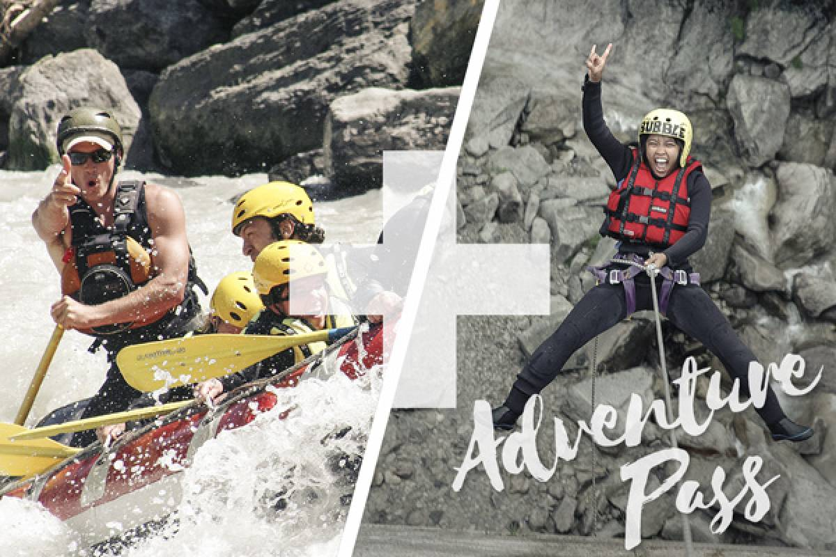 Outdoor Interlaken AG Adventure Pass: Rafting Lütschine + Canyoning Grimsel